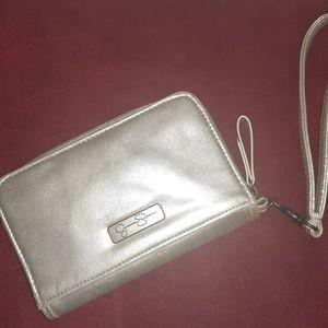 Jessica Simpson Woman's Zip Around Wallet Wristlet
